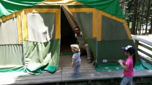 アクトパル宇治 常設テント