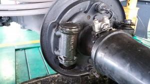 ブレーキオイル漏れ ホイルシリンダー