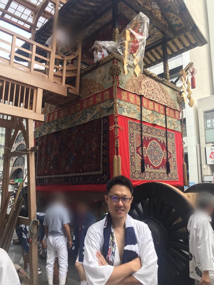祇園祭,月鉾,山鉾巡行