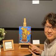 西畑里菜,NishihataRina,RinaNishihata,油絵個展,油彩風景画,油彩風景画家,福田健児