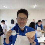 日本一ブナが生えている青森県でBUNACO手作り体験をする福田健児