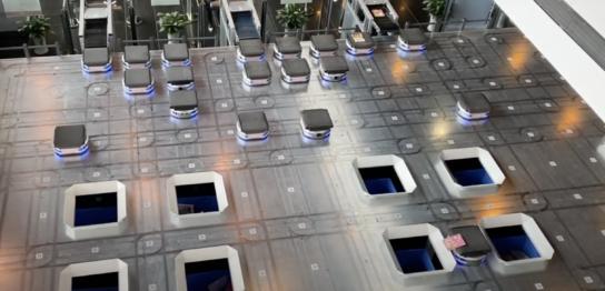 深セン,深圳,宝安図書館,テクノロジー,分類ロボット