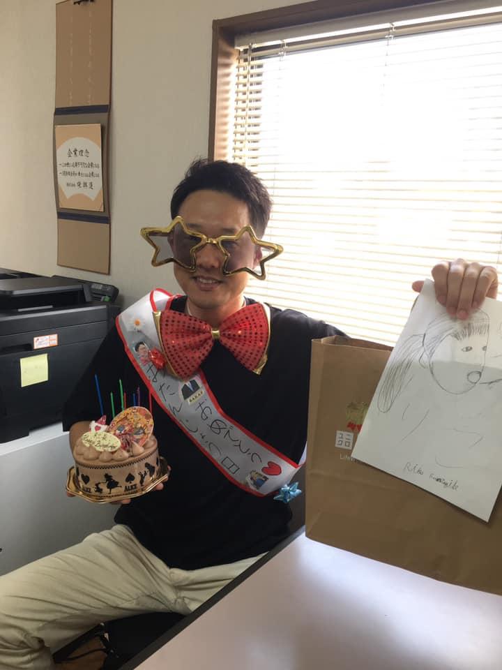 福田健児,誕生日,誕生日プレゼント,栄興運,さかえこううん,サプライズ