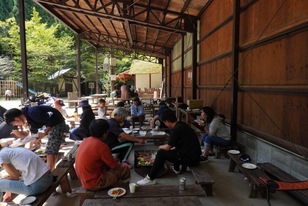 栄興運,さかえこううん,京都の運送会社,バーベキュー,バーベキュー大会,BBQ,大森リゾートキャンプ場,レクリエーション,社員旅行,社内イベント