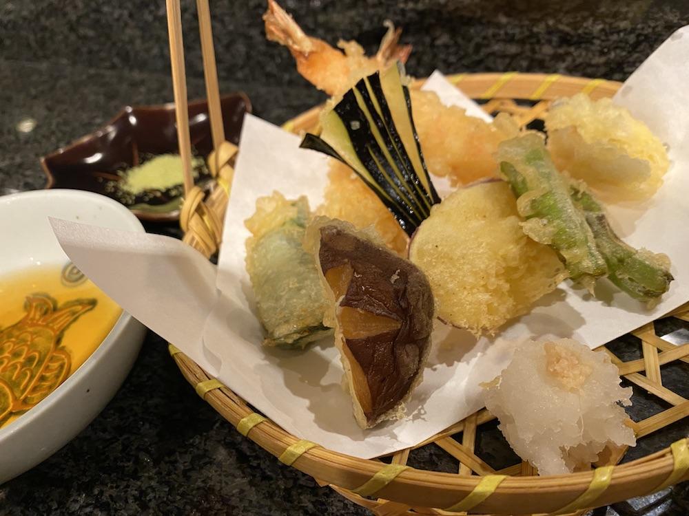 酒菜禅,禅,宮津,京都,天橋立,天ぷら盛り合わせ