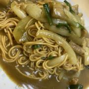 京都府宮津市にある中国料理豚珍館のスパイシーカレー焼きそば
