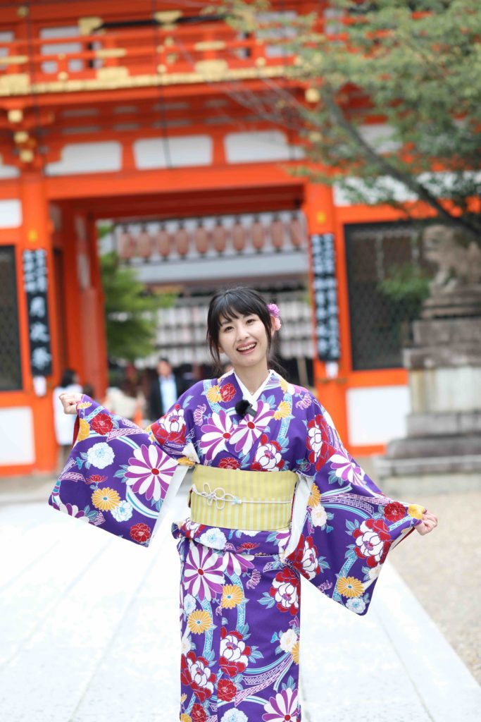 石川亜矢子,いしかわあやこ,a.y.a_pooh,管理栄養士,aya,モデル,女性モデル,撮影モデル,ポートレート,モデル撮影,着物,街着,祇園,八坂神社