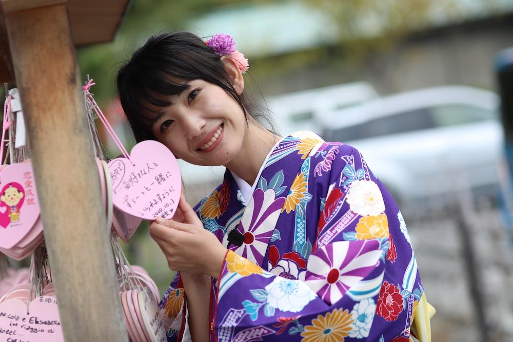 石川亜矢子,いしかわあやこ,a.y.a_pooh,管理栄養士,aya,モデル,女性モデル,撮影モデル,ポートレート,モデル撮影,着物,街着,高台寺