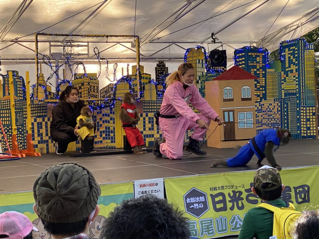 高尾山,福田健児,日光さる軍団,高尾山さる園