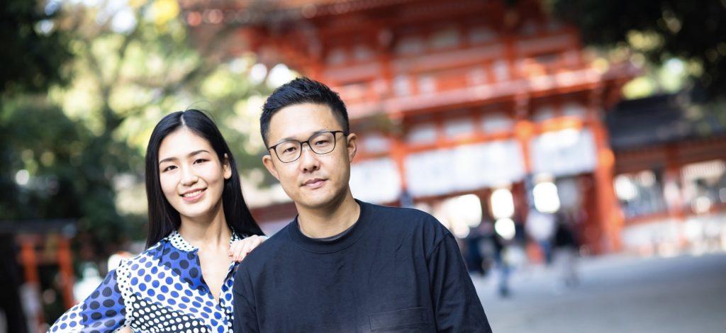 パリコレモデル,渡辺由梨佳,yurika.w_official,福田健児,世界遺産,下鴨神社