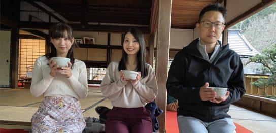 モデルの日下部純と麻生ゆうきと福田健児