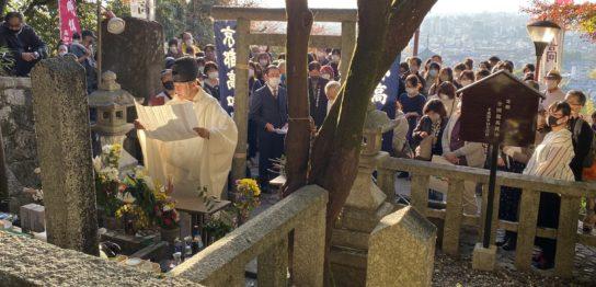 京都霊山護国神社の龍馬祭