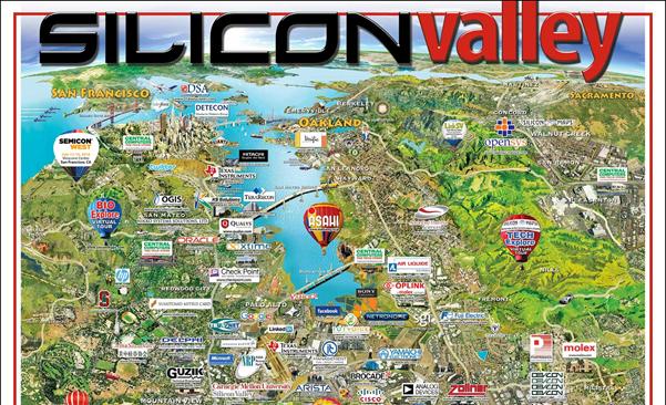 SILICON valley,シリコンバレー