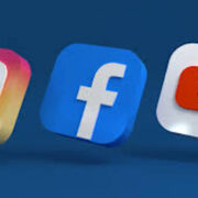 Facebook,Instagram,YouTube