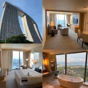 シンガポール,マリーナベイサンズ,船の上にあるプール,プール,スイートルーム