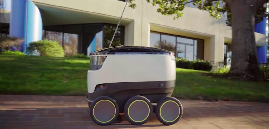スターシップテクノロジーズの配達ロボット「スターシップ・ロボット」