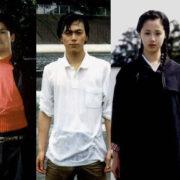 パッチギの役者たち、左から波岡一喜、高岡蒼佑、塩谷瞬、沢尻エリカ、尾上寛之